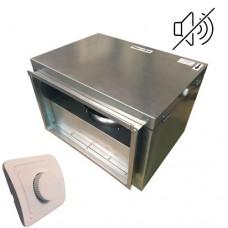 Вентилятор канальный бесшумный VS(EC)-7020 с пультом ДУ (улитка ebm-papst)