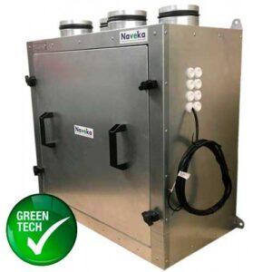 Приточно-вытяжная установка Node1-1000/RP,VEC,E6 Vertical