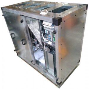 Приточно-вытяжная установка Node1-2200/RP,VEC,W Vertical