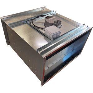 Вентилятор канальный прямоугольный VEC1- 5030 (0,38 кВт; 2,5А; 220В)