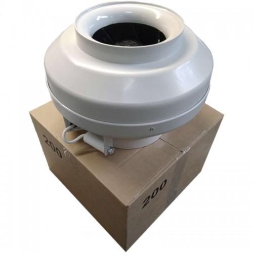 Вентилятор канальный круглый V-160 (пласт. корпус, мотор-колесо ebm-papst)