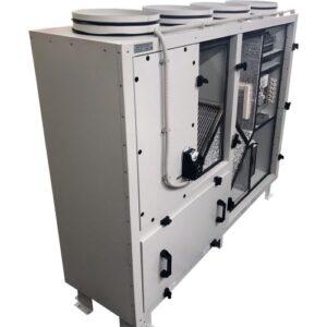 Приточно-вытяжная установка Node1- 800/RP,VEC,Z,W Vertical (AQUA)