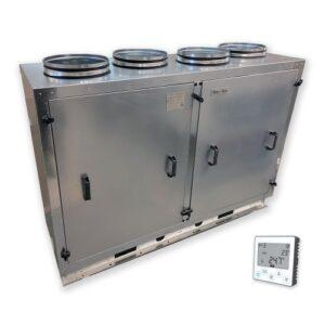 Приточно-вытяжная установка Node1-1600/RP,VEC,E10 Vertical