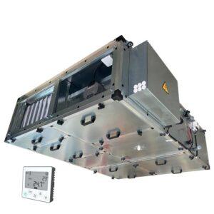 Приточно-вытяжная установка Node1-3500/RP,VEC,W Compact