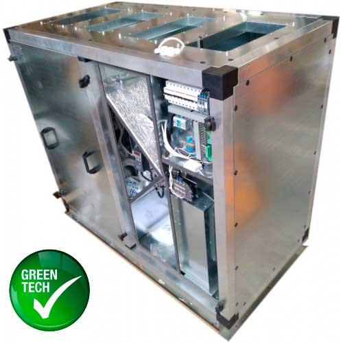 Приточно-вытяжная установка Node1-2200/RP,VEC,E13.5 Vertical