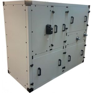 Приточно-вытяжная установка Node1-2200/RP,VEC,Z,W Vertical (AQUA)